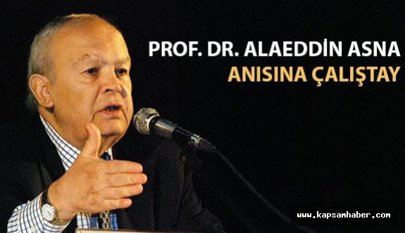 PROF. DR. ALAEDDİN ASNA ANISINA ÇALIŞTAY