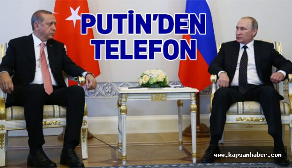 Putin, Cumhurbaşkanı Erdoğan'ı aradı