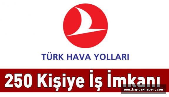Türk Hava Yolları'na 250 Personel Alınacak
