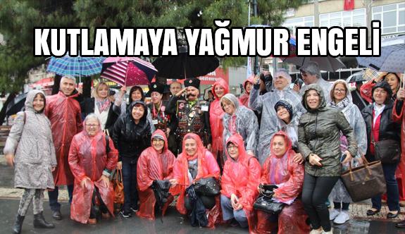 Samsun'da 19 Mayıs Bayramına Yağmur Engeli