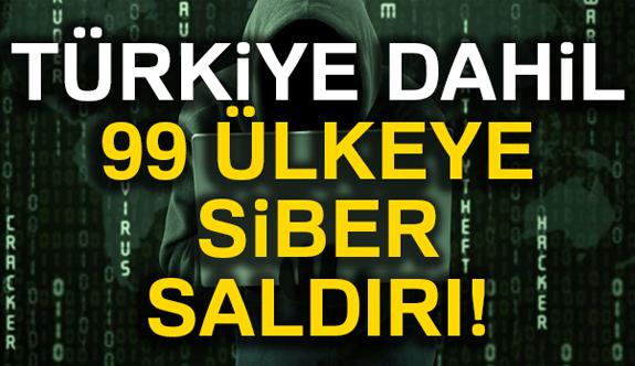 99 Ülkeya Siber Saldırı