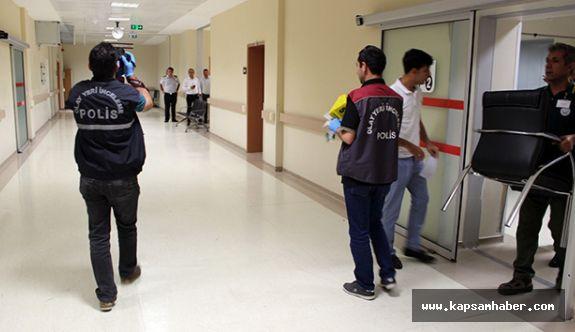 Adıyaman'da Hastanede tedavi gören hastaya silahlı saldırı