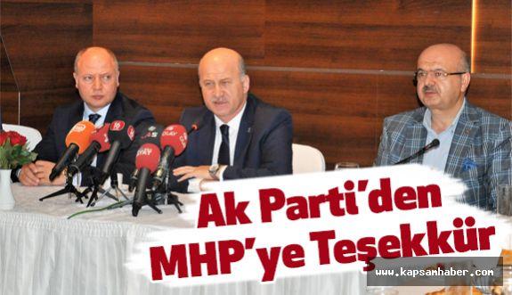 Ak Partili Torun Bahçeli'ye Teşekkür Etti