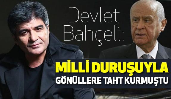 Bahçeli: İbrahim Erkal, Milli Duruşuyla Gönüllere Taht Kurmuştu