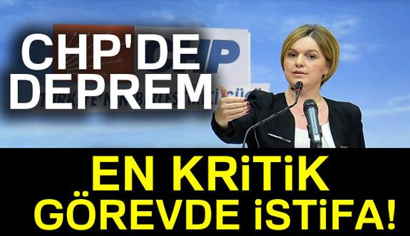 Böke, CHP'deki görevlerinden istifa etti