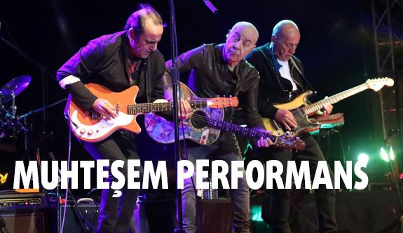 Çağlak Festivali konserinde muhteşem performans...