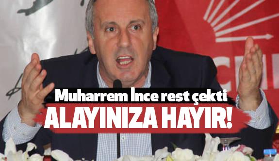 """CHP'li İnce """"Sarayın Talimatı"""" sözlerine sert çıktı"""