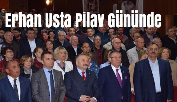 Erhan Usta Ladik'te Pilav Gününe Katıldı