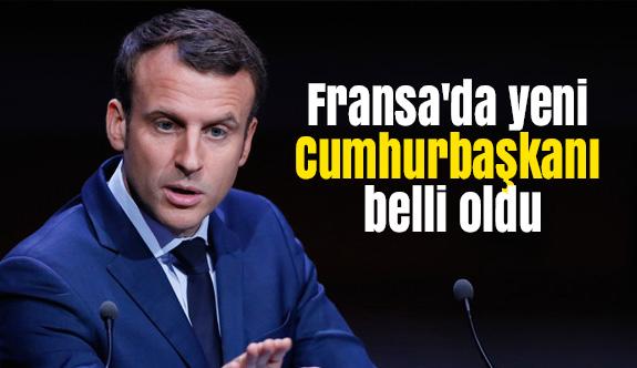 Fransa'da Cumhurbaşkanı Belli Oldu