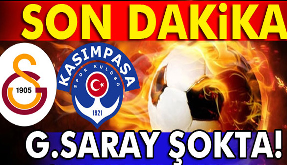 Galatasaray Kasımpaşa maçı kaç kaç?