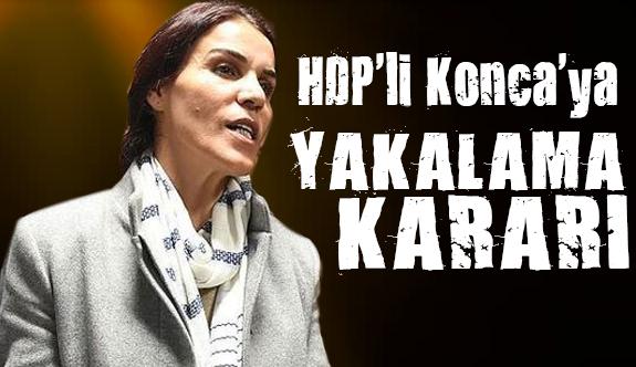 HDP'li Konca'ya yakalama kararı!