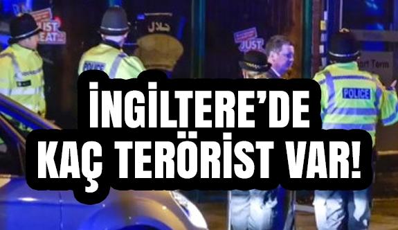 İngiltere İstihbaratı Kaç Terörist Olduğunu Açıkladı.