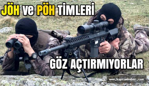 JÖH ve PÖH timleri Karadeniz'de Teröristlerin Korkulu Rüyası Oldu