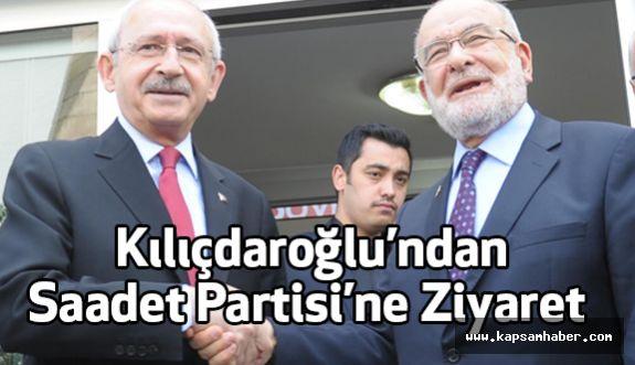 Kılıçdaroğlu'ndan Saadet Partisine Ziyaret