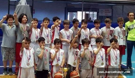 Minikler Basketbol İl Birinciliği Müsabakaları sona erdi