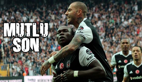 Mutlu son: Beşiktaş 4-1 Kasımpaşa