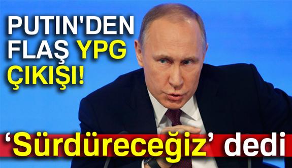 Rus Liderden YPG Açıklaması
