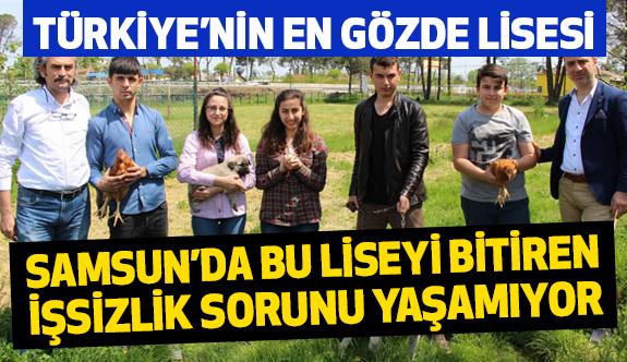 Samsun'da Bu liseyi bitirenin iş sorunu olmuyor
