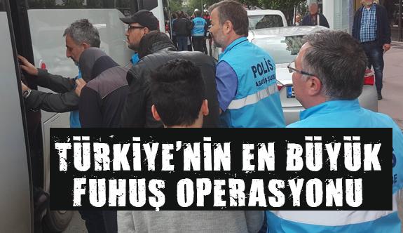 Samsun'da Türkiye'nin en büyük fuhuş operasyonu