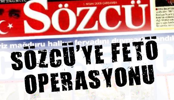Sözcü Gazetesine Operasyon