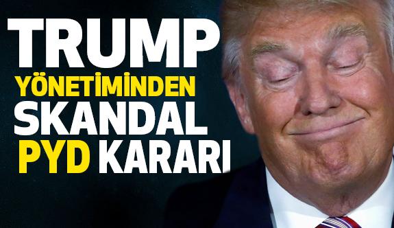 Trump Yönetiminden Skandal PYD Kararı