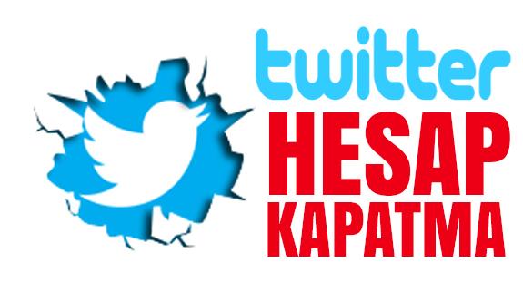Twitter Hesap Kapatma Tamamen Silme