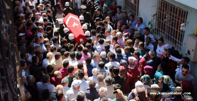 Çavuş Mete Yahşi'nin evinden helallik alındı