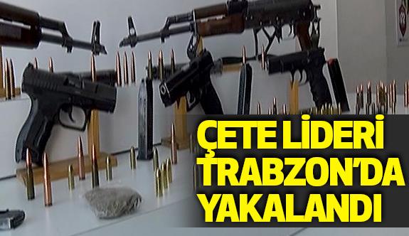 Çete Lideri Ümit Saral Trabzon'da yakalandı