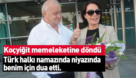Hülya Koçyiğit Türkiye'ye Döndü: Mesajı Var