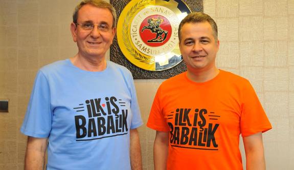 """Murzioğlu'ndan, """"İlk İş Babalık"""" kampanyasına destek"""