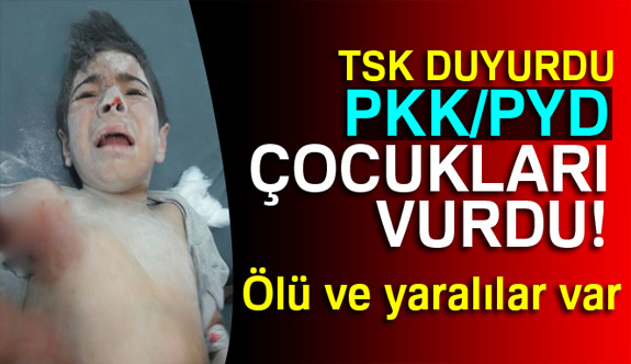 PKK/PYD - Azez ve Mare'de Çocuklara Saldırdı..