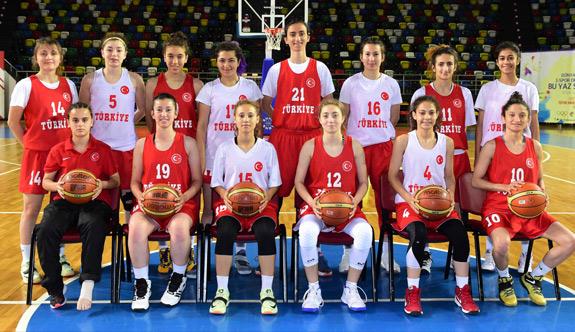 Samsun'da Kadın basketbolda ilk olimpiyat heyecanı