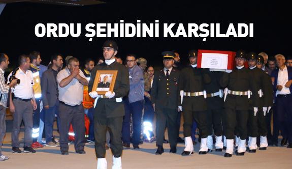Şehit Onur Tiken'in Cenazesi Ordu'ya Getirildi