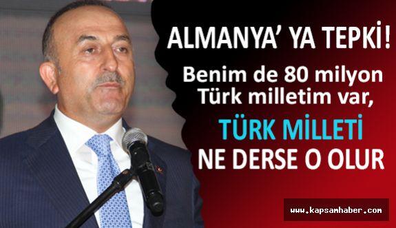 Türkiye'den Almanya'ya İncirlik cevabı: Bu ülkede kararları millet alır