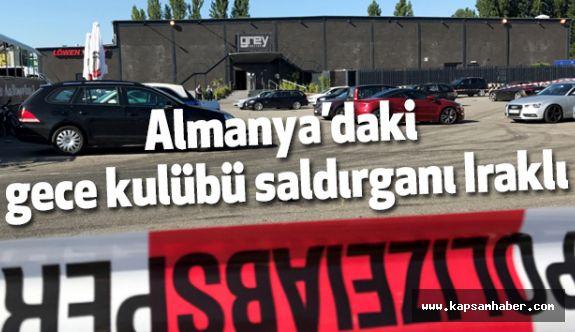 Almanya'daki gece kulübü saldırganı Iraklı