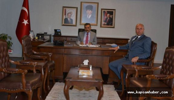 Başkan Togar'dan Vali Kaymak'a Ziyaret