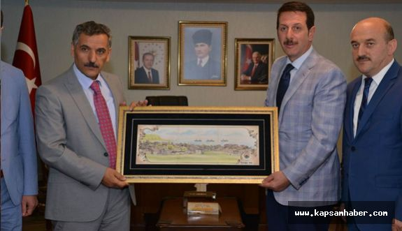 Başkan Tok'tan Vali Kaymak'a Ziyaret
