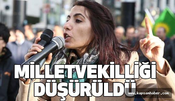 Bir HDP'linin Daha Milletvekili Düşürüldü
