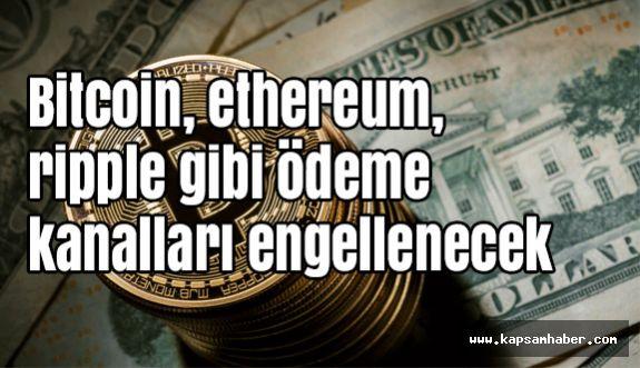 Bitcoin Sitelerine Engel Geliyor...