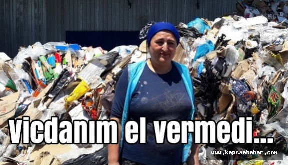 Çöp Tesisinde Çalışan Kadındaki vicdan...