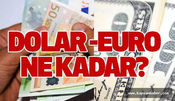 Dolar ve Euro kaç lira oldu ?