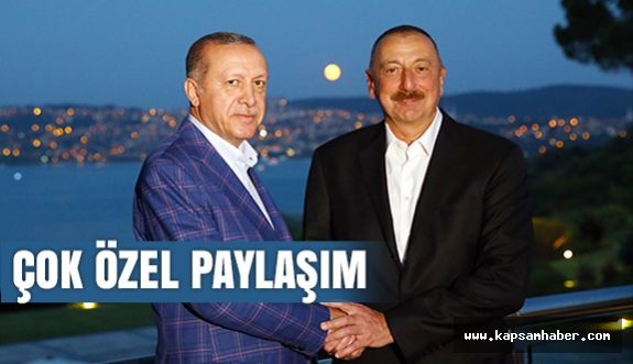 Erdoğan'dan Çok Özel Paylaşım