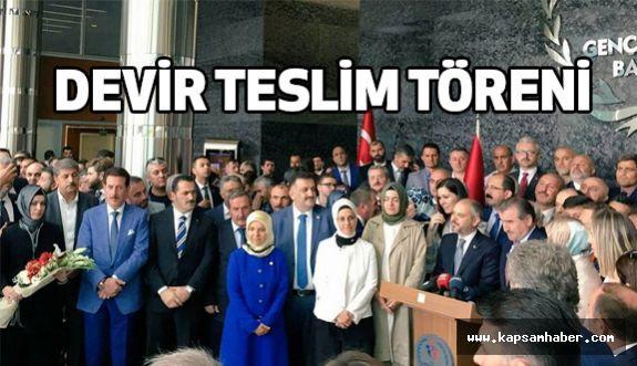 Erdoğan Tok, Ankara'da Devir Teslim Törenlerine Katıldı