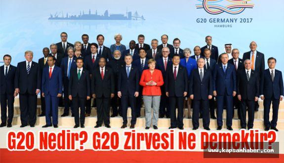 G20 Nedir? G20 Zirvesi Ne Demektir?