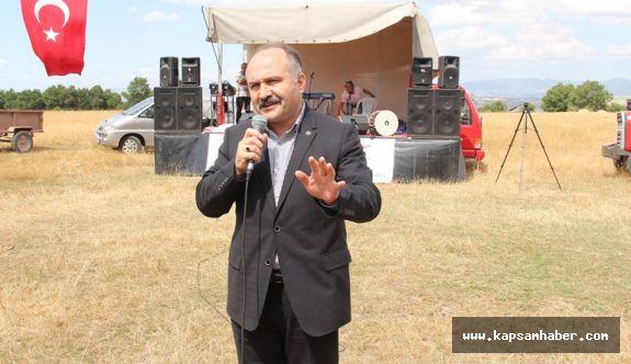 Havza'da Çiğdemtepe Festivali gerçekleştirildi.
