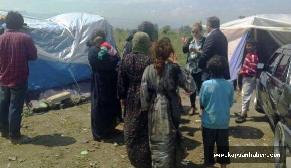 İzmit'ten Türkmenlere destek