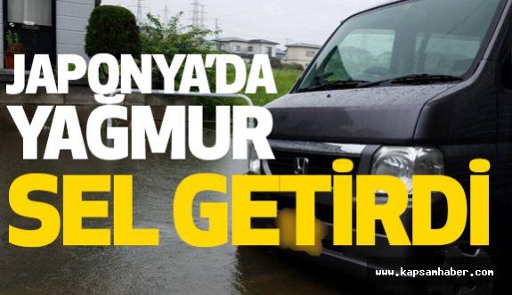 Japonya'da Şiddetli Yağışlar Sel Getirdi