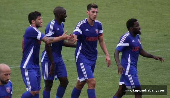 Karabükspor, 4. hazırlık maçından 7-1 galip ayrıldı