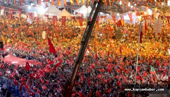 Kayseri'de 15 Temmuz Etkinlikleri