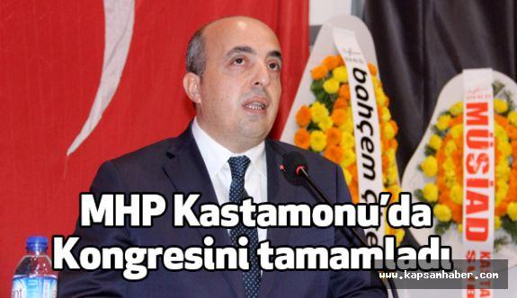 MHP Kastamonu İl Başkanı Maşalacı, Güven Tazeledi